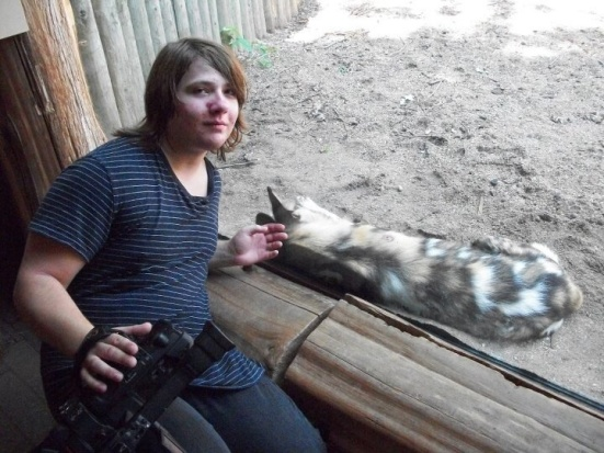 Matt at Zoo